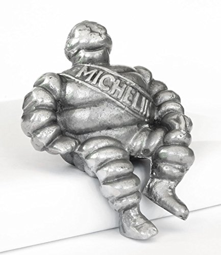 Aluminium Michelin Man Car Bonnet Mascot and Hood Ornament