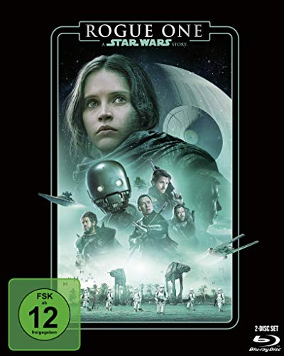 Rogue One: A Star Wars Story (Line Look 2020) [Blu-ray]