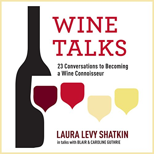 Wine Talks audiobook cover art