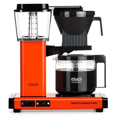 Moccamaster Filter Kaffeemaschine KBG 741 AO, 1.25 Liter, 1520 W, Orange