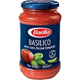 Barilla, salsa para pasta, basilico 400gr
