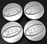 4 tapacubos de 59 mm – 60 mm para Kia Alloy Runner, tapas de centro de buje,...