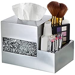 Tissue Box Cover Multifunction Organizer
