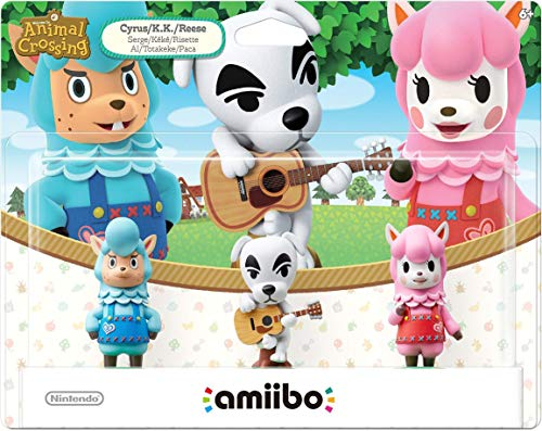 Animal Crossing Series 3-Pack Amiibo (Animal Crossing Series) (Renewed)
