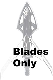 RAGE Replacement Blades for Extreme 4 Blade Broadhead