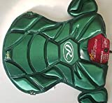 Rawlings PROCP950XS Adult Green Baseball Chest Protector Fits Ages 16 & Up
