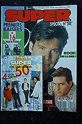 SUPER 050 MAI 1992 MINI ALBUM MADONNA PATICK BRUEL MICHAEL JACKSON ROCH VOISINE JOHNNY DEPP MC SOLAAR PREMIERS BAISERS + POSTERS