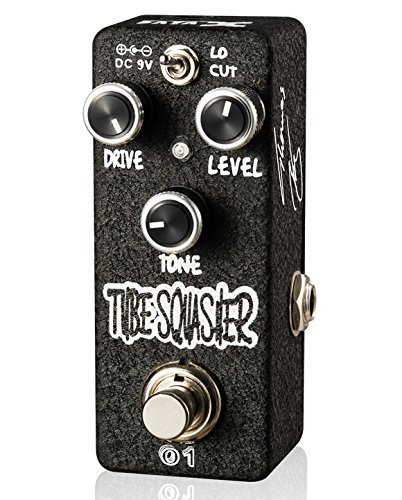 Xvive Tube Squasher Analog OverDrive Guitar Effect Pedal True Bypass