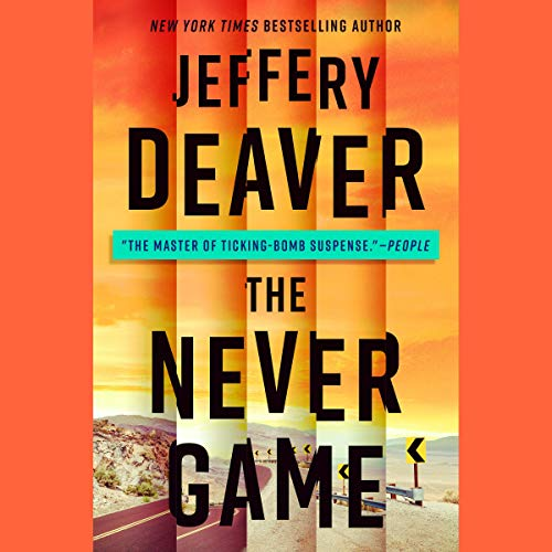 The Never Game audiobook cover art