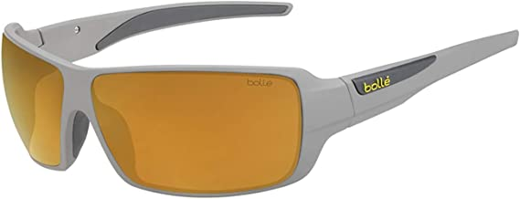 Bolle Cary Matte Cool Grey Sunglasses Gold