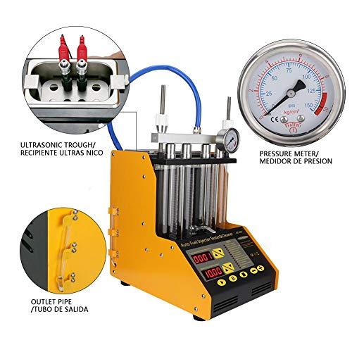CT150 auto motor ultrasone benzine-brandstofsysteem injector reiniger tester voor motorfiets auto reinigingsgereedschap (EU)