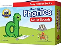 Meet the Phonics - Letter Sounds - Easy Reader Books 1935610244 Book Cover