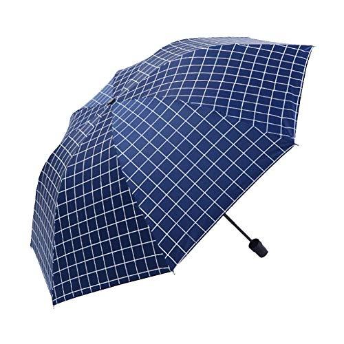 Protección Solar Parasol Lluvia y Sol Paraguas de Doble Uso