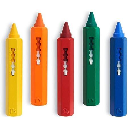 Munchkin - Juguete de baño, 5 lápices de colores