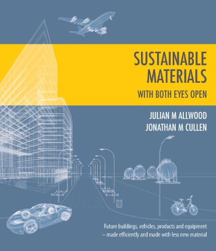 Sustainable Materials With Both Eyes Open (without the hot air)