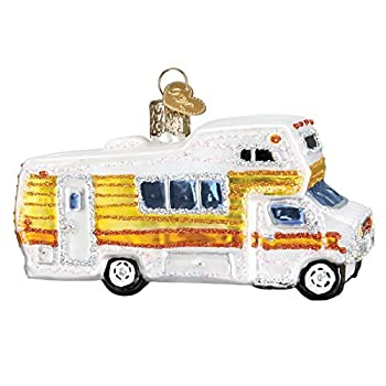 Old World Christmas Ornaments  Camping Outdoor Collection Glass Blown Ornaments for Christmas Tree Motorhome