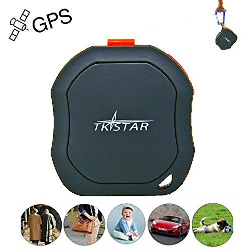 Mini GPS Tracker for Children /Elderly People/Disabled, GSM GPRS SMS Mobile Anti Lost Track SOS Panic Button Free Tracking Platform TK1000