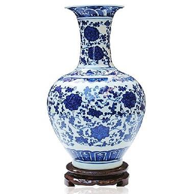 ufengke®Blue And White Porcelain Vase Online Shop
