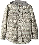 UNIONBAY Men's Classic Flannel Hoodie, tin, Small