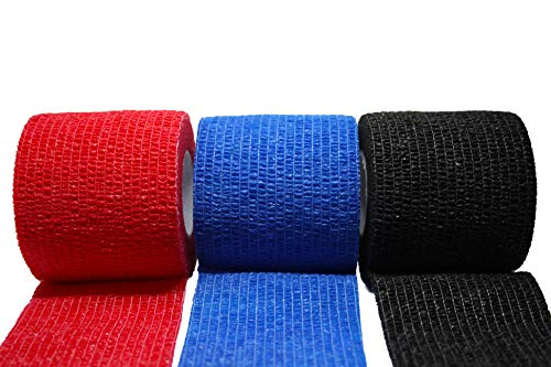 Herolio Bandage selbsthaftend, Verband, Wundversorgung 3er Set 5 x 450 cm