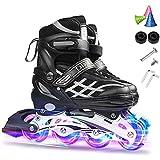 Skating Shoes Roller Blades Adult Women Men 38-41 Sports Roller Blades Outdoor & Indoor, Comfortable Inline Skates Shoes