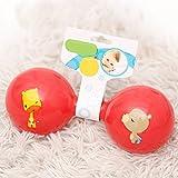 Redyiger Kinder Spielzeug Kinder Pädagogische Bunte Sensorische Weiche Glocke Klingel