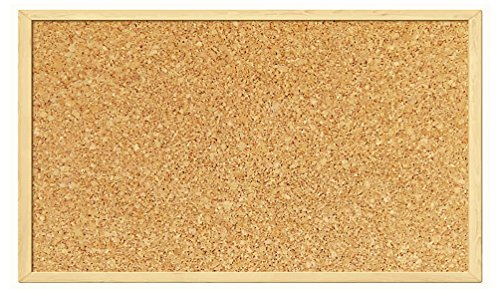 Pin Cork Notice Board Office MEMO School Push Pin Board Classic Natural Board (300MM x 400MM)