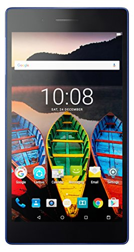 Lenovo Tab 3 Essential 7-Inch Tablet (Blue) - (Mediatek MT8127, 1 GB RAM, 16 GB eMMC, Android 5.0)
