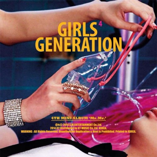 girls generations SNSD GIRLS' GENERATION [MR.MR.] 4th Mini Album CD+Photobook+Sticker+Tracking Number K-POP SEALED