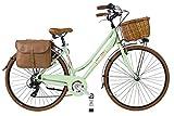 Via Veneto by canellini vélo Femme Vintage Retro dolce vita aluminium vert clair 46