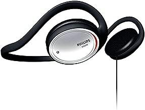 Philips SHS390 On-Ear Stereo Headphones (Black)