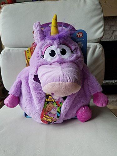 Tummy Stuffers Lilac Unicorn Plush Toy
