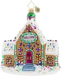 Christopher Radko Gingerbread Dream Home Christmas Ornament, Multi-Color