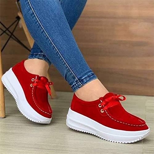 Zapatos De Tiras Para Mujer Zapatos Para Caminar De Moda Zapatilla De Deporte Transpirable Zapatos De Plataforma De Cuña Cómodos Zapatos Para Caminar Zapatos Súper Suaves Para Aumentar La Altura De