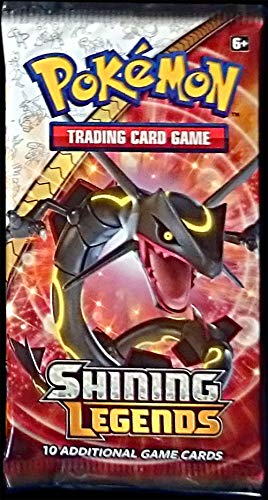 Booster Pack - Sun and Moon - Shining Legends (10 Cards)
