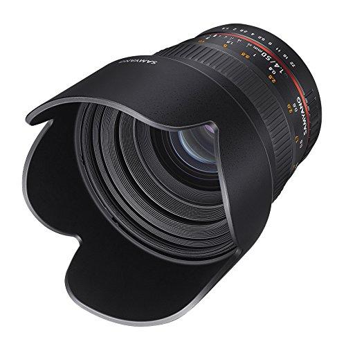 Samyang - Objetivo para cámara réflex Digital Canon EF (50/1,4)
