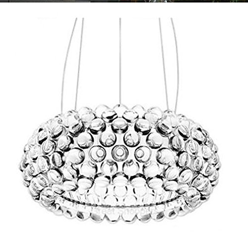 GRH New Bedroom Caboche Ball Pendelleuchte Licht Dia35 / 50 / 65CM Ac90-260v Leuchten für Wohnzimmer Schlafzimmer Hotel (Größe : 65cm/25.59in)