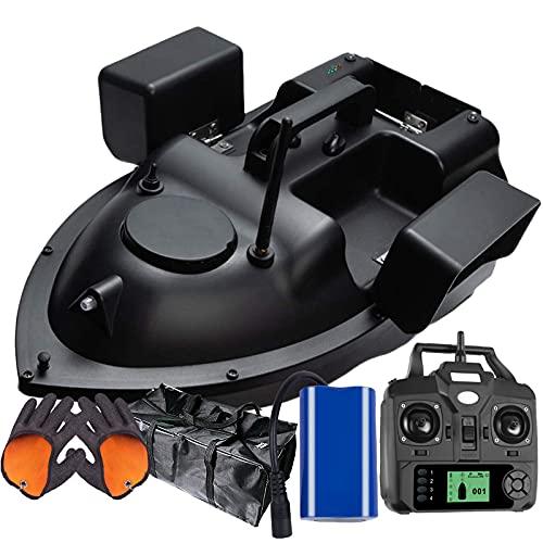 FDYD RC Cebo de Pesca de Barco 500m Distancia GPS Postion travesía Auto Remoto Control de la Pesca de Cebo Vivo con Control de Almacenamiento de Tres ablel anidamiento,12000mAh