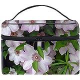 化粧ポーチ トラベルポーチ ドレッサー 化粧品 収納 雑貨 小物入れ 女性 超軽量バラの花ビーズ葉の美しさ