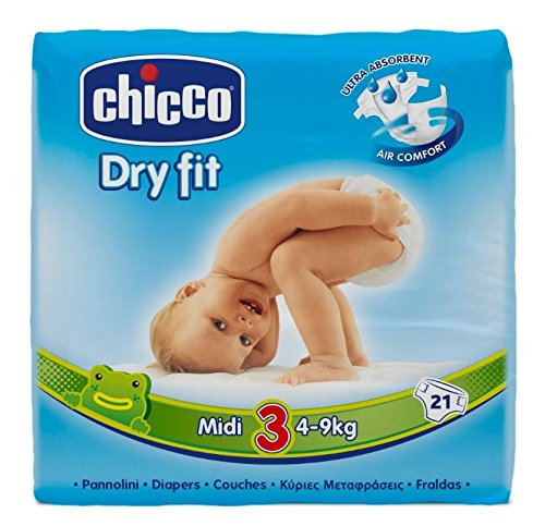 Chicco Dry Fit Midi Windeln Maxi Pack
