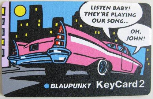 BLAUPUNKT Radio KeyCard 2 Ersatzteil 8638312626 Sparepart