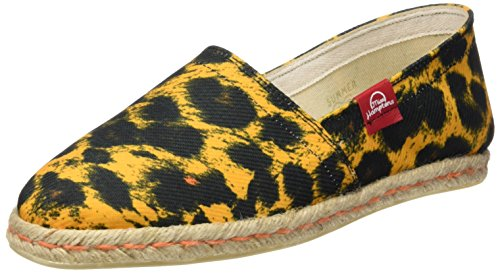 MISS HAMPTONS Leopard Print, Alpargatas para Mujer, Muticolor, 41 EU