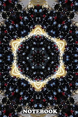 Notebook: Mandala Stars , Journal for Writing, College Ruled Size 6' x 9', 110 Pages