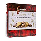 Walkers Shortbread Assorted Chocolate Shortbread Cookies, 10.6 Ounce Tin