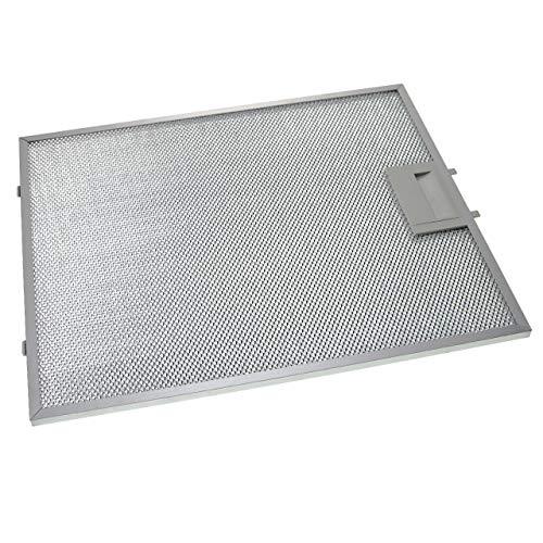 vhbw Filter Metallfettfilter, Dauerfilter passend für Bosch DWA067E51B/03, DWA068E50/01, DWA068E50/02, DWA068E50/03, DWA06D650/01 Dunstabzugshaube