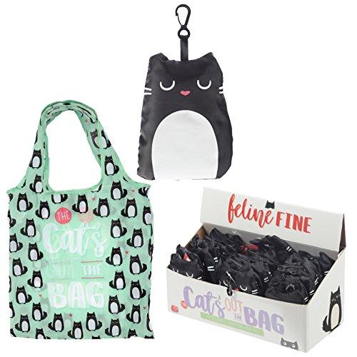 Faltbare Einkaufstasche - Feline Fine Katze