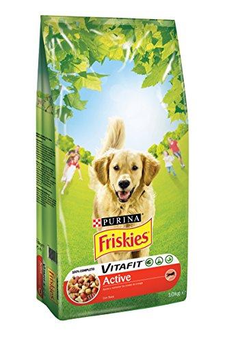 Purina Friskies Vitafit Active Pienso para Perro Adulto Buey 10 Kg