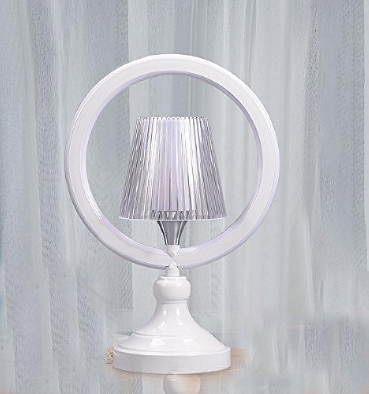 DYY Tischlampe Schlafzimmer Nachttischlampe, Kreative Einfache Moderne Persnlichkeit Warmen Nordic Nachttischlampe, Romantische Hochzeit Zimmer Lampe