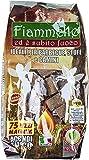 Cereria Carlo Nappi firelighter minilog 150gr fácil de Usar en Papel Impreso, de Fibra de Madera, marrón, 30x 30x 30cm