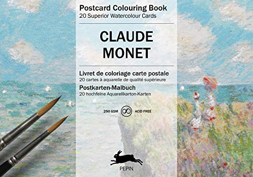Claude Monet: Postcard Colouring Book / Postkarten - Malbuch (Postcard coloring book)